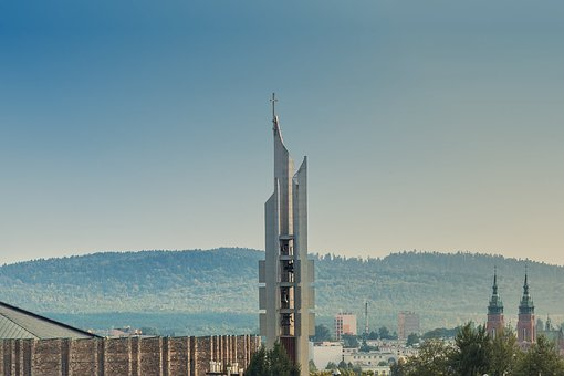 Tower, The Bell Tower, Church, Panorama, Architecture