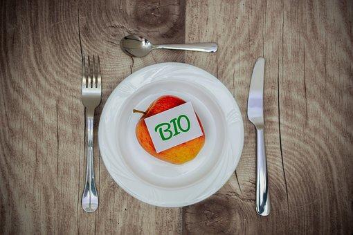 Apple, Bio, Cutlery, Cover, Vitamins, Healthy, Harvest