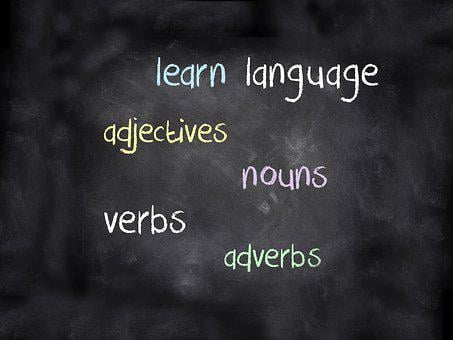 Blackboard, Learn, Language, Language School, Chalk