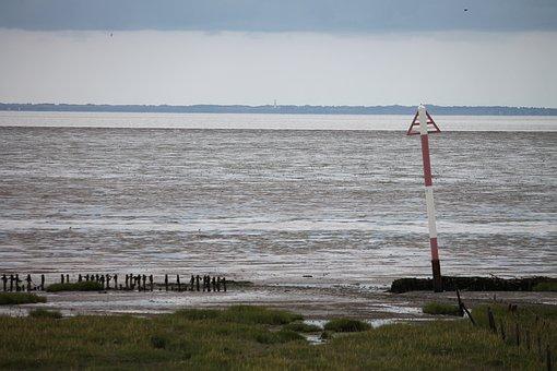 North Sea, Sea, Beach, By The Sea, Water, Coast