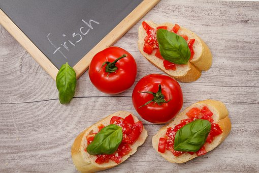 Tomato, Bread, Culinary Delight, Eat, Food, Healthy