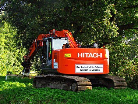 Excavator, Machine, Building, Work, Equipment