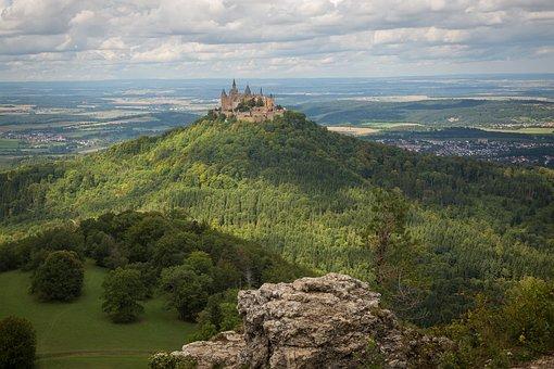 Swabian Alb, Hohenzollern, Hohenzollern Castle
