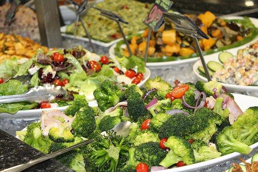 Salads, Fresh, Deli, Broccoli, Ham, Ingredients