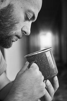 Male, Glass, Beard, Background, Food, Kitchen, Health