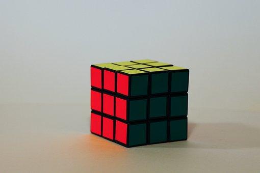 Magic Cube, Rotary Puzzle, Colorful
