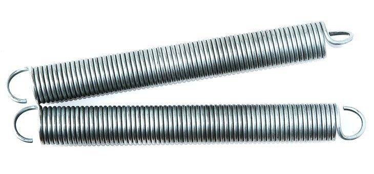 Springs, Extension, Metal, Spiral, Coil