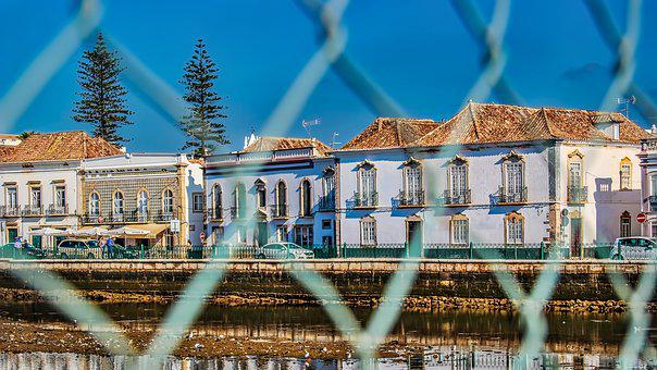 Tavira, Algarve, Portugal, Summer, Town, Water