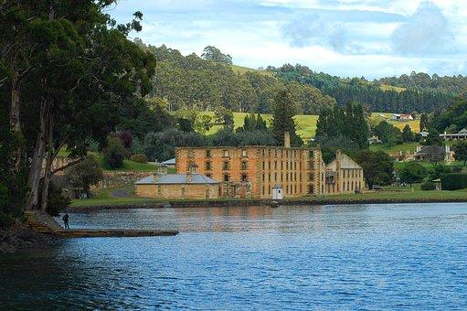 Hobart, Prison, Tasmania, Port, Arthur, Convict