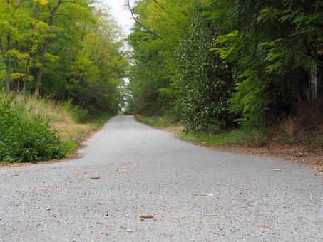Away, Road, Landscape, Asphalt, Nature, Just, Long Gone