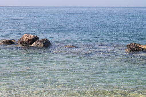 Clear, Ocean, Rocks, Sea, Water, Nature, Blue, Summer