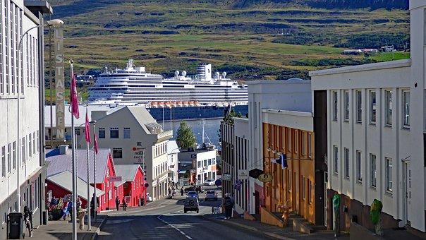 Koningsdam, Holland America, Cruise, Ship, Akureyri
