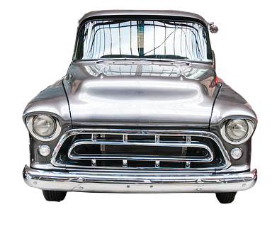 Classic, American, Truck, Car, Old