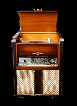 Music, Turntable, Radio, Old, Nostalgia, Music Cabinet
