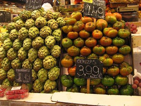 Fruit, Market, Fruits, Apple, Vegetables, Vitamins