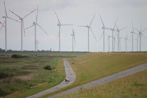 Windmills, Wind Park, Ecology, Energy, Wind Power