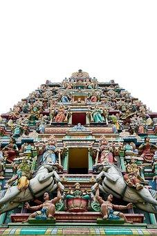 Indian, Sculpture, Worship, Faith, Asian, Ancient City
