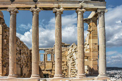 Acropolis, Athens, Greece, Ancient, Greek, Architecture