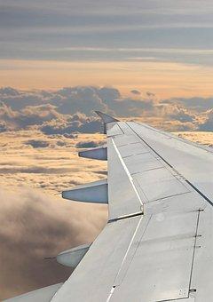 Aircraft, Clouds, Sky, Fly, Aviation, Jet, Propeller
