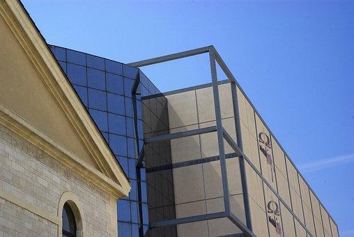 Buildings, Architecture, Blue Sky, Toulon