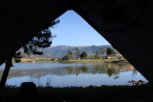 Camping, Lake, Lagoon, Nature, Park, Summer, Forest