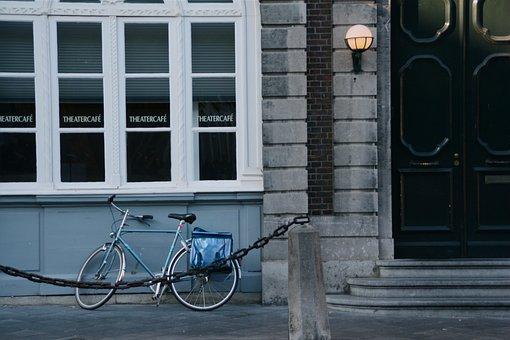 Bicycle, Maastricht, Holland, Biking, City, Classic