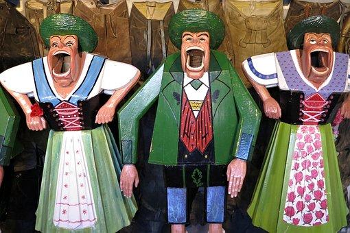 Oktoberfest, Munich, Throw Bude, Historically, Costume