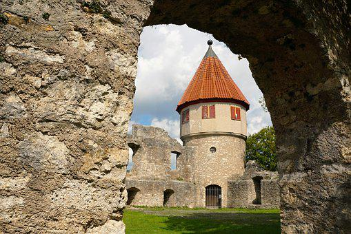 Tuttlingen, Tower, Castle, Middle Ages, Germany