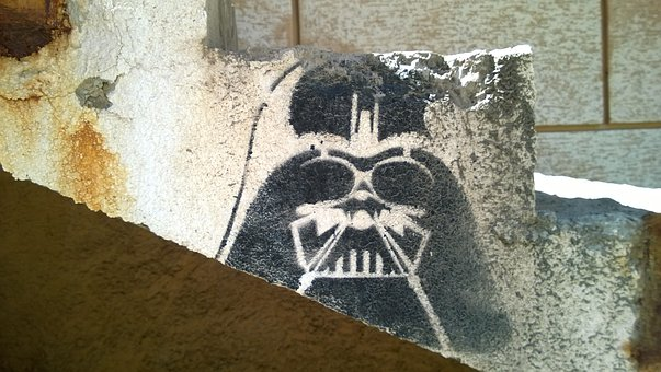 Darth Vader, Star Wars, Head, Staircase