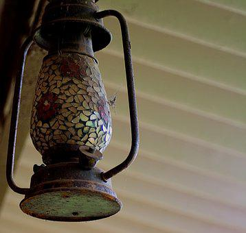 Lantern, Kerosene, Lamp, Retro, Vintage, Oil, Old