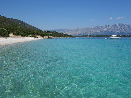 Beach, Greece, Blue, Lefkada, Sea, Summer, Water