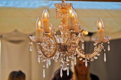 Chandelier, Light, Lighting, Light Bulb
