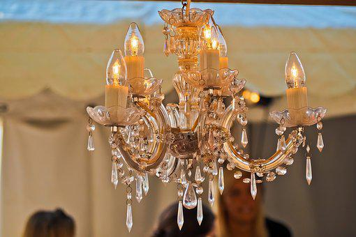 Chandelier, Light, Lighting, Light Bulb