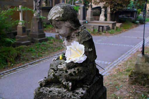 Cemetery, Child, Memory, Children, The Tomb Of