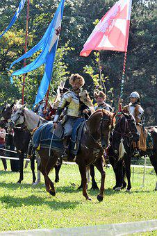 Sommerfest, Knight, Attack, Middle Ages