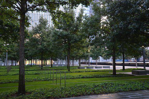 Plaza, New York, Park, 911, Memorial