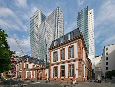 Palais, Thurn Taxis, Frankfurt, Hesse, Germany