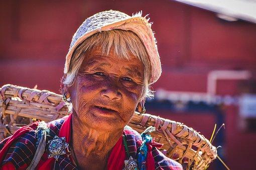 Bhutanese Woman, Female, Culture, Woman, Ethnic, People