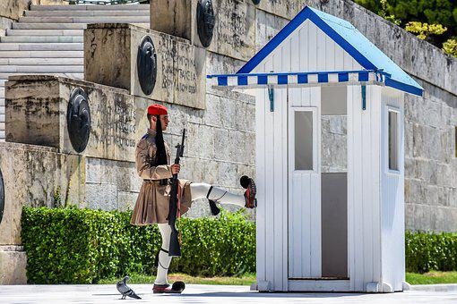 Greek Soldier, Parliament, Greece, Athens, Soldier