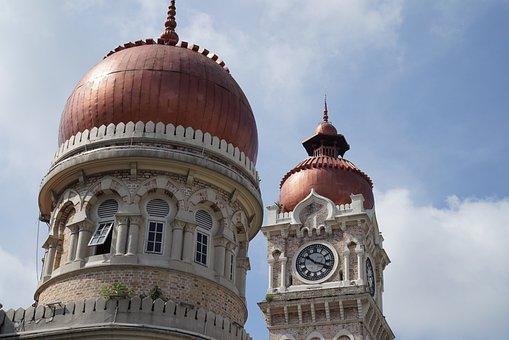 Sultan Abdul Samad Building, Clock Tower, Historical