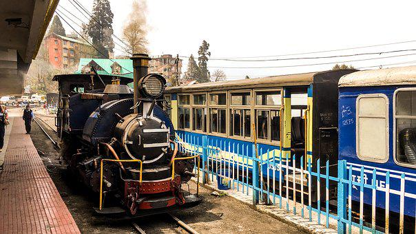 Toy Train, Darjeeling, Train, Smoke, Coal Train, Engine