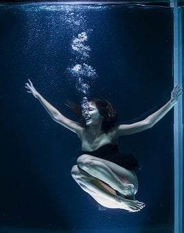 Scream, Water, Air, Breath, Art, Photography, Studio