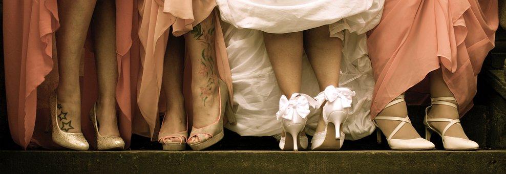 Shoes, Wedding, Elegant, Bride, Wedding Shoes, Feet