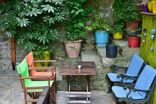 Cafe, Restaurant, Nei Pori, Platamonas, Greece