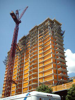 Building Construction, Residential, Development, Crane
