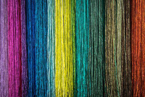 Cord, Rope, Fiber, Close, Colorful, Background, Pattern