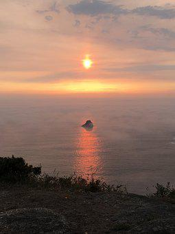Sunset, Spain, Finisterre, Fisterra