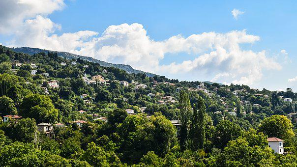 Greece, Pelio, Milies, Village, Architecture