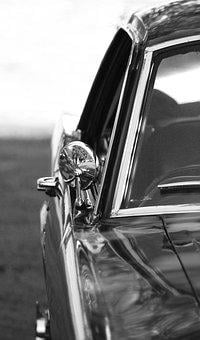 Mustang, Ford, Car, Old, Classic, Windshield, Hobby Car
