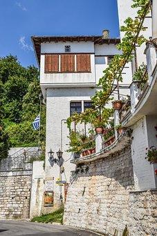 Greece, Pelio, Milies, Village, House, Architecture